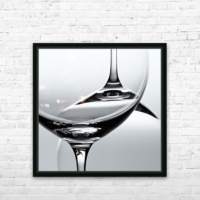 Glass HD Sublimation Metal print with Decorating Float Frame (BOX)