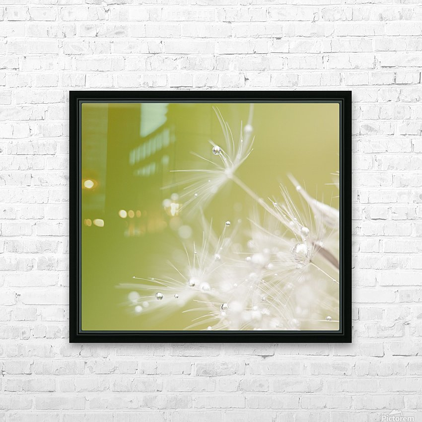 Green HD Sublimation Metal print with Decorating Float Frame (BOX)