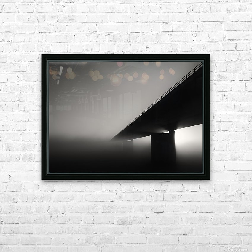 Endless road HD Sublimation Metal print with Decorating Float Frame (BOX)