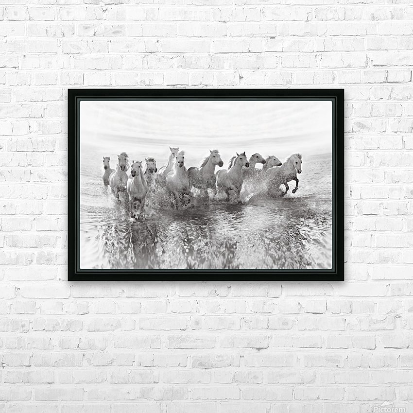 Illusion of power (13 horse power though) HD Sublimation Metal print with Decorating Float Frame (BOX)