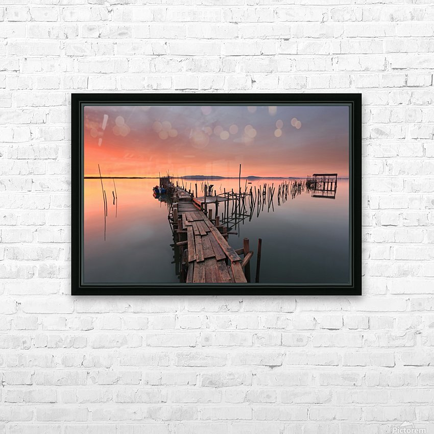The last... Light HD Sublimation Metal print with Decorating Float Frame (BOX)