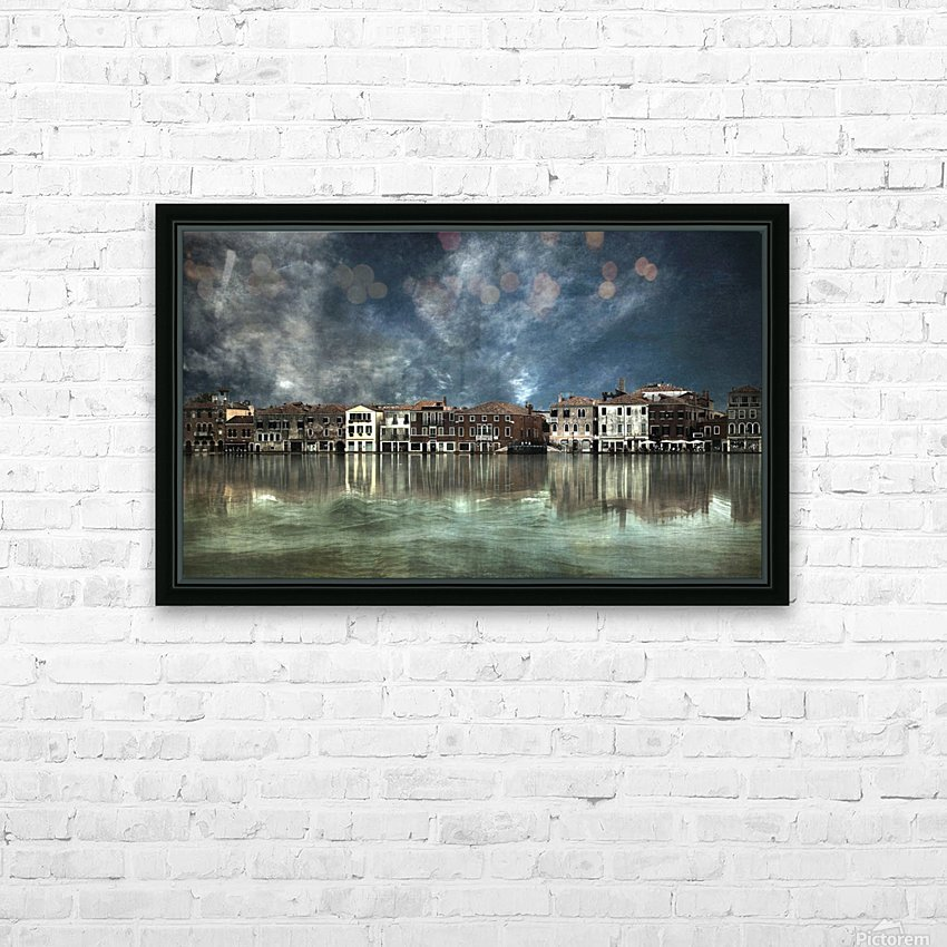 Reflections in Venice HD Sublimation Metal print with Decorating Float Frame (BOX)