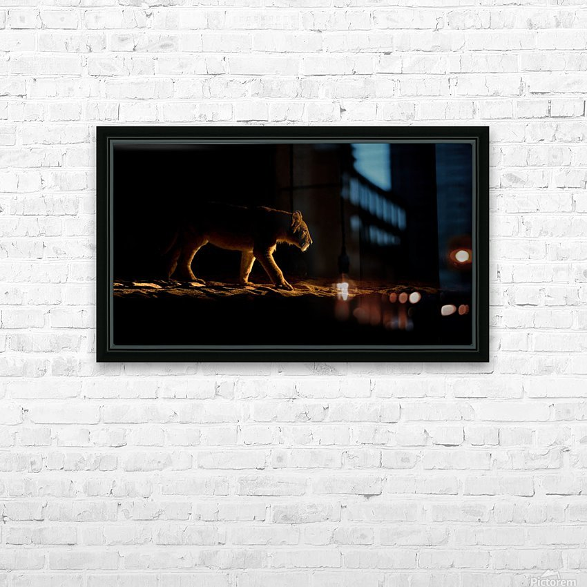 In The Spot HD Sublimation Metal print with Decorating Float Frame (BOX)