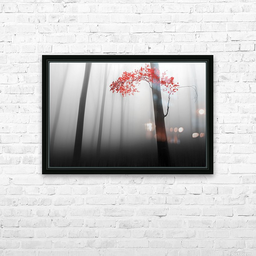 illusion HD Sublimation Metal print with Decorating Float Frame (BOX)