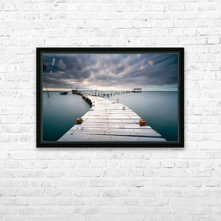 Last path HD Sublimation Metal print with Decorating Float Frame (BOX)