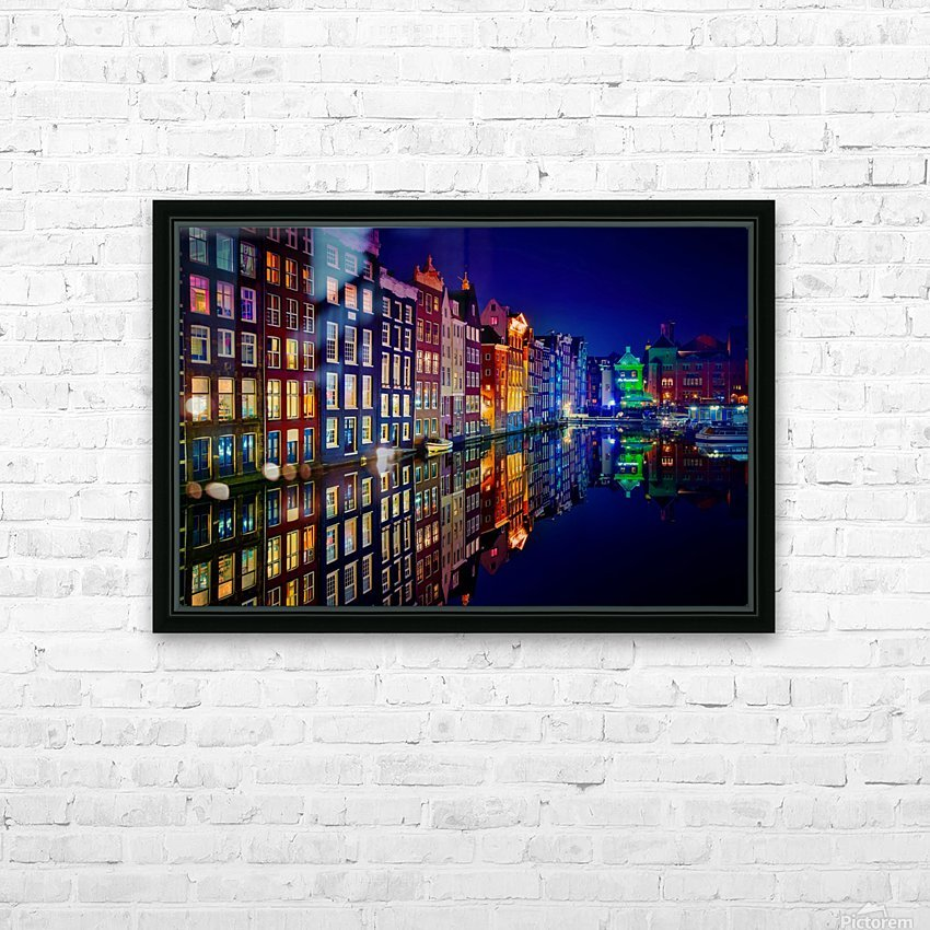 Amsterdam HD Sublimation Metal print with Decorating Float Frame (BOX)
