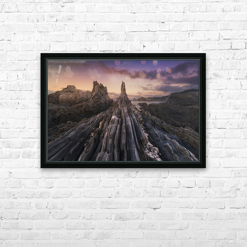 Gueirua Needles HD Sublimation Metal print with Decorating Float Frame (BOX)