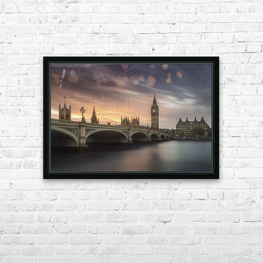 Big Ben, London HD Sublimation Metal print with Decorating Float Frame (BOX)