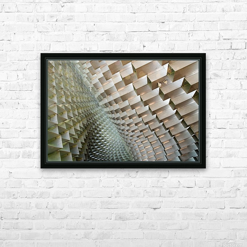 Serpentine HD Sublimation Metal print with Decorating Float Frame (BOX)