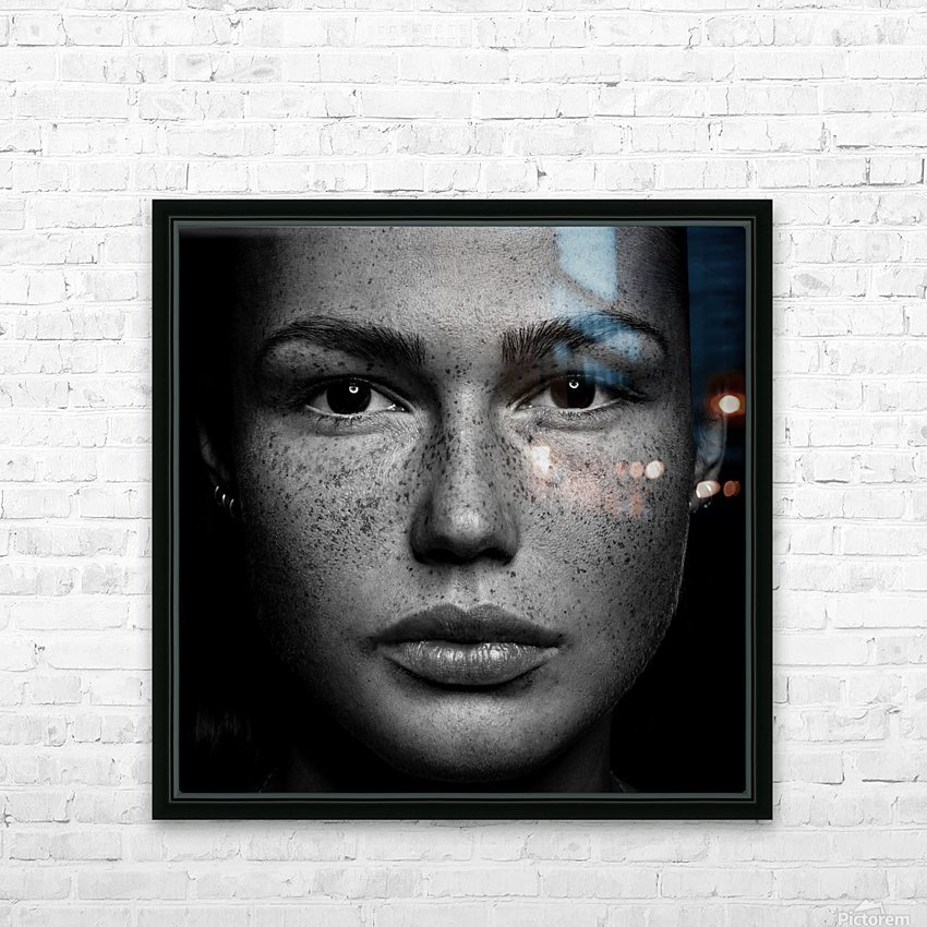 Romi HD Sublimation Metal print with Decorating Float Frame (BOX)