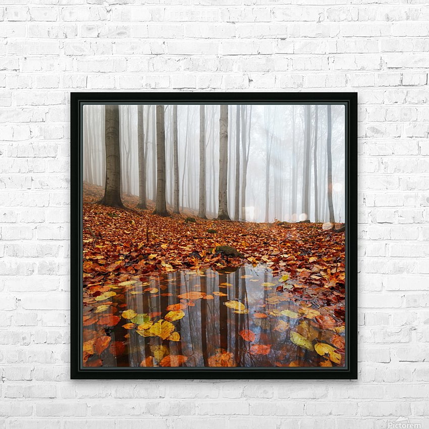 Puddle HD Sublimation Metal print with Decorating Float Frame (BOX)