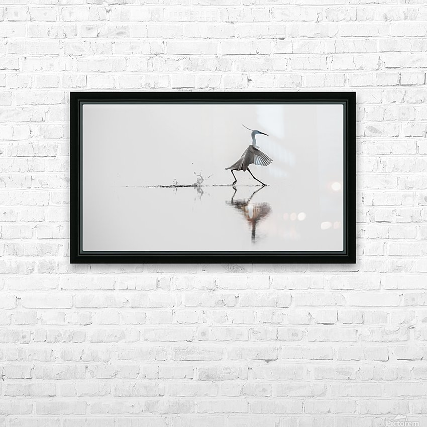 Dancing on the water HD Sublimation Metal print with Decorating Float Frame (BOX)