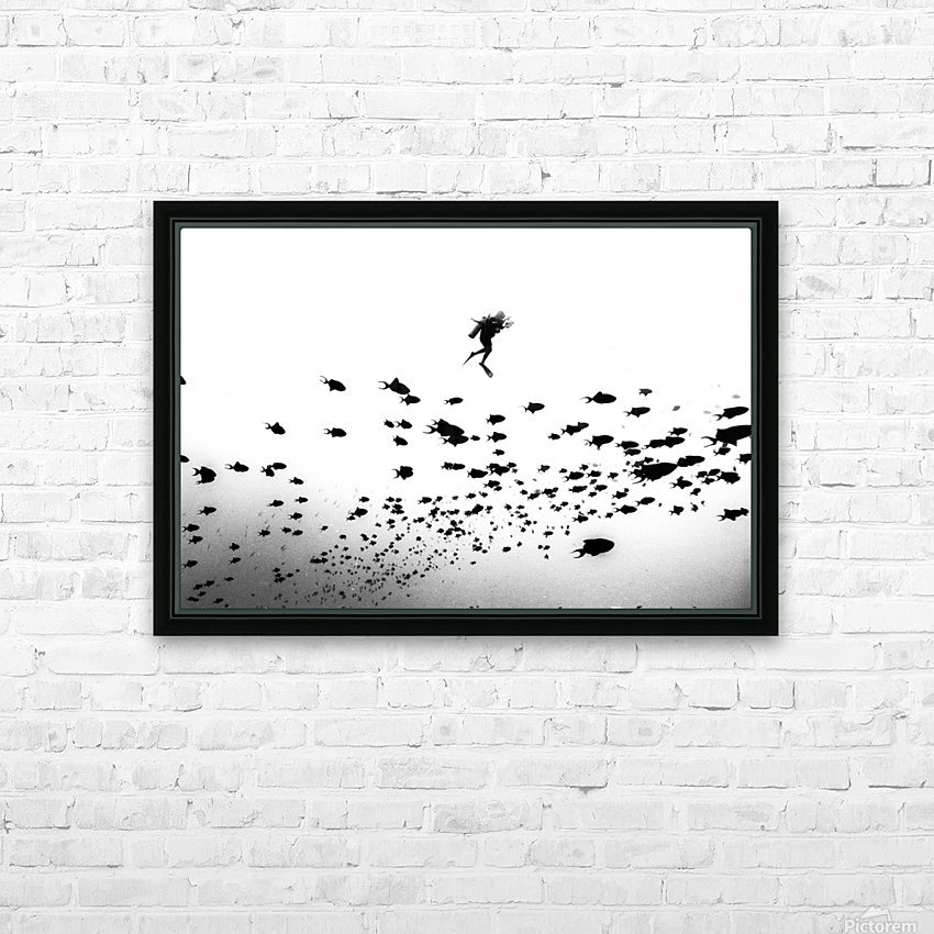 Pied Piper of Hamelin HD Sublimation Metal print with Decorating Float Frame (BOX)
