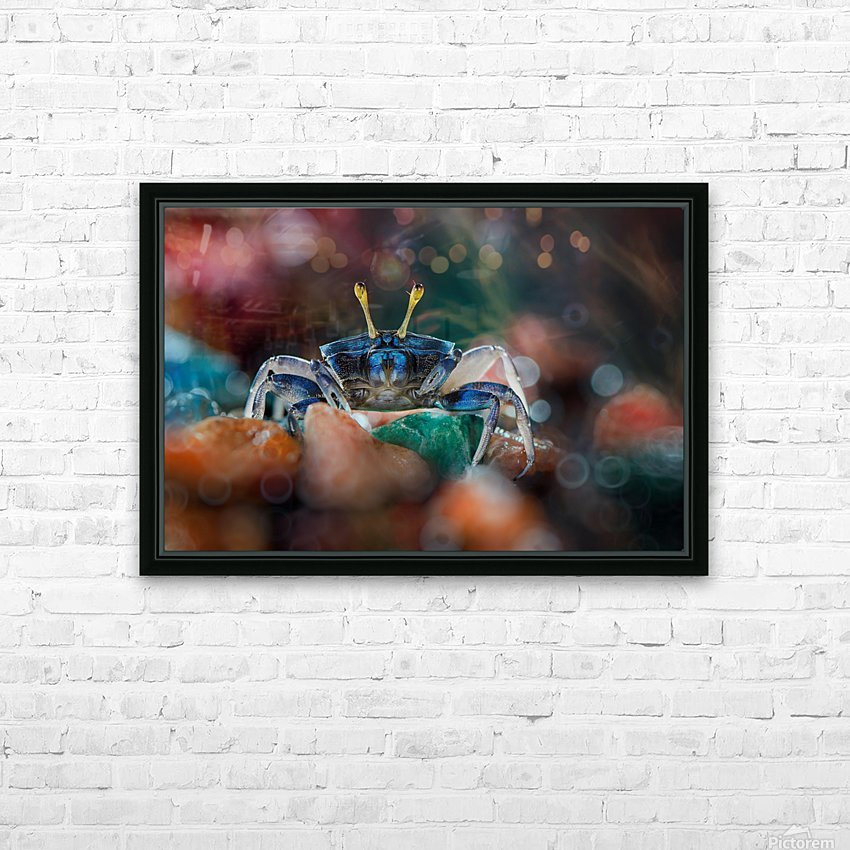 kapiting kacui HD Sublimation Metal print with Decorating Float Frame (BOX)