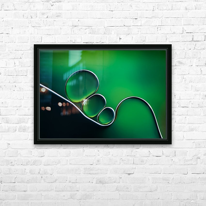 Shifting Shapes HD Sublimation Metal print with Decorating Float Frame (BOX)