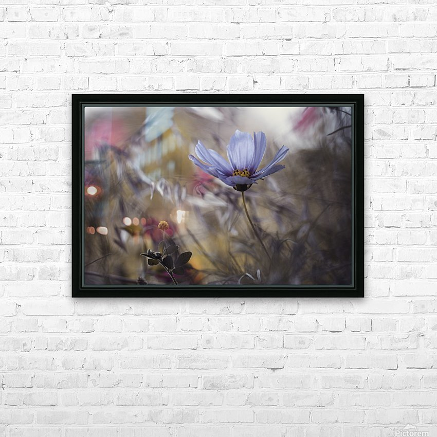 Things that flowers tell HD Sublimation Metal print with Decorating Float Frame (BOX)