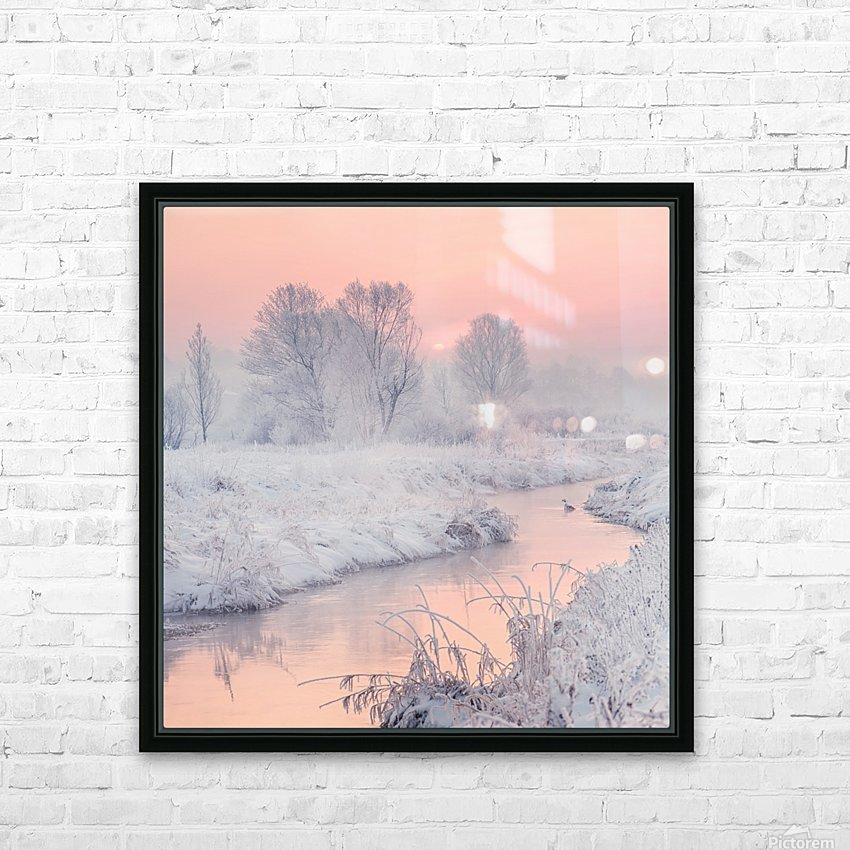 road to the sun HD Sublimation Metal print with Decorating Float Frame (BOX)