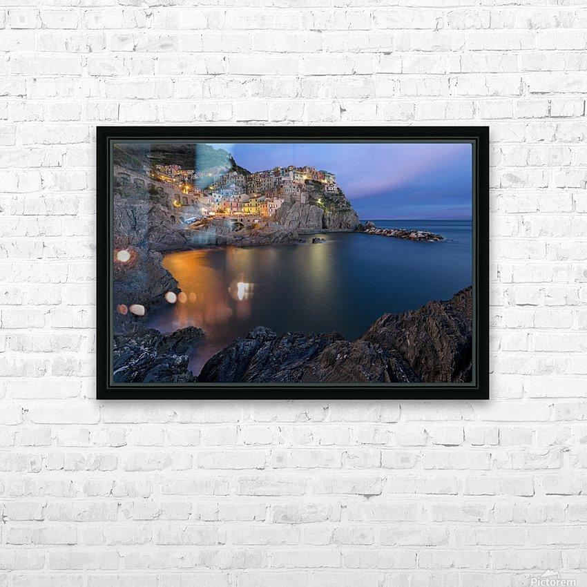 Manarola Lifestyle HD Sublimation Metal print with Decorating Float Frame (BOX)