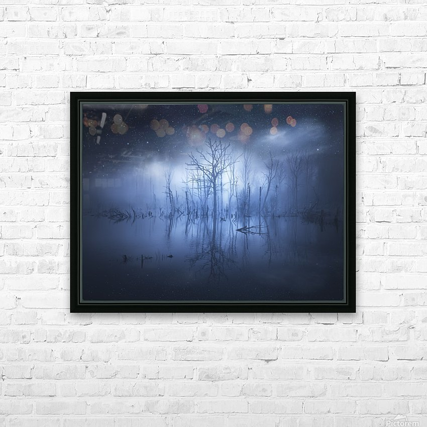 Stranger things HD Sublimation Metal print with Decorating Float Frame (BOX)