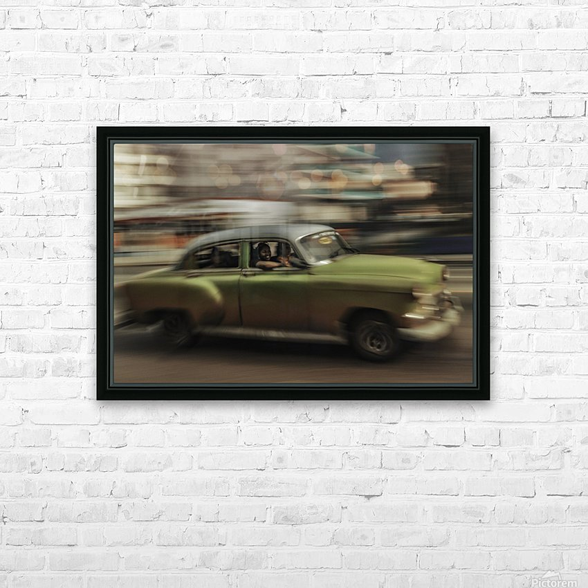 Panning Havana HD Sublimation Metal print with Decorating Float Frame (BOX)