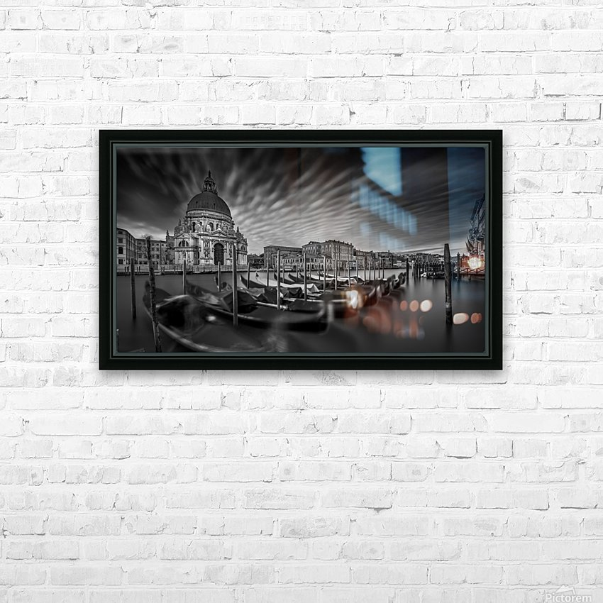 canale grande HD Sublimation Metal print with Decorating Float Frame (BOX)