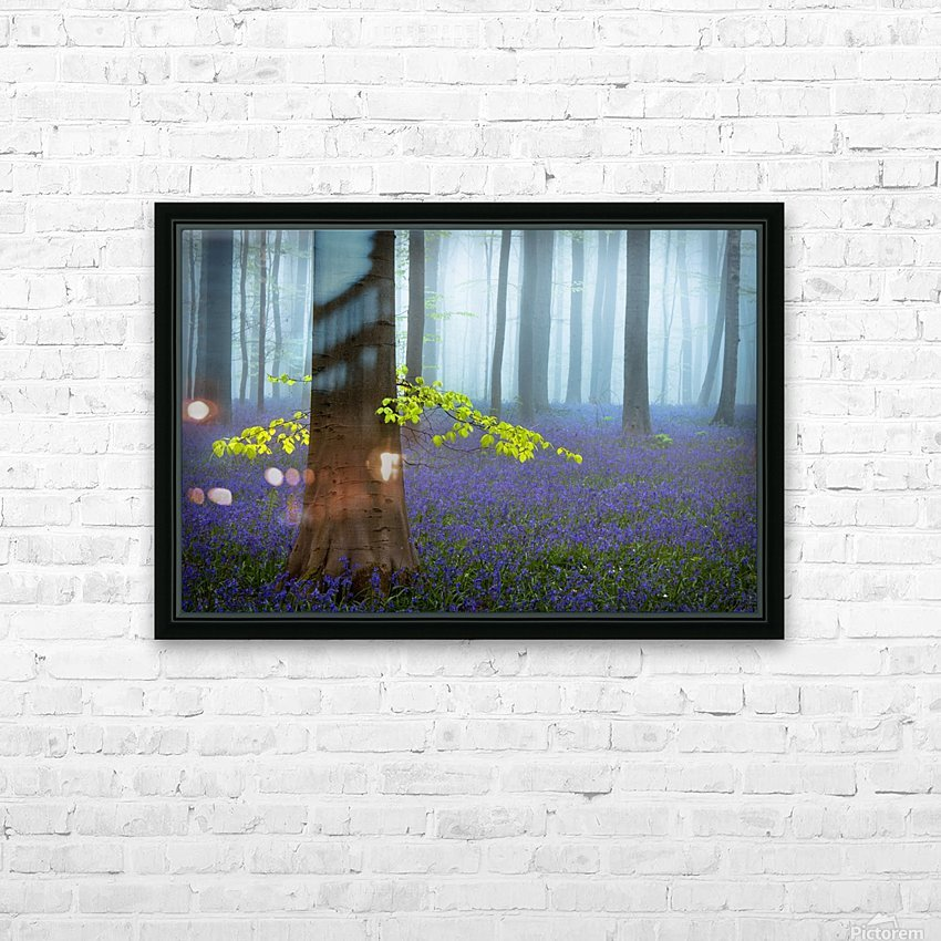 Spring........... HD Sublimation Metal print with Decorating Float Frame (BOX)