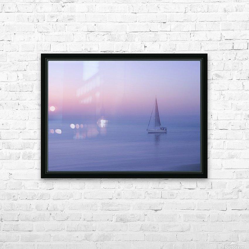 Sliema, Malta HD Sublimation Metal print with Decorating Float Frame (BOX)