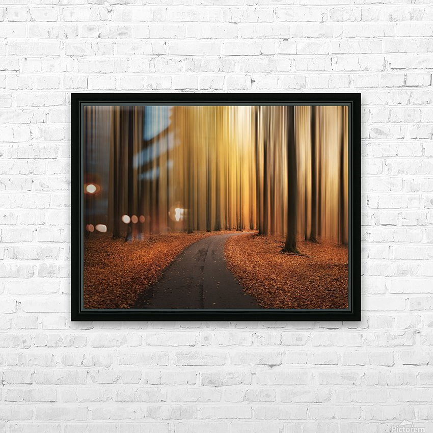 Path to unknown HD Sublimation Metal print with Decorating Float Frame (BOX)
