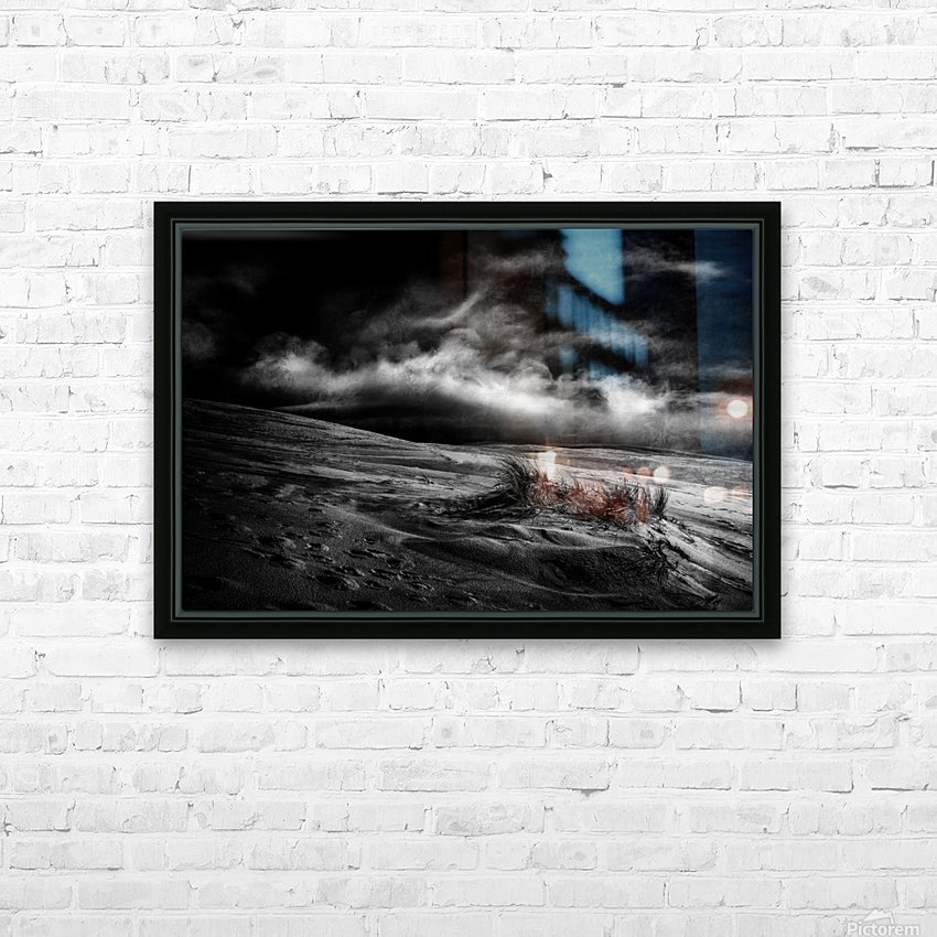 marram grass HD Sublimation Metal print with Decorating Float Frame (BOX)