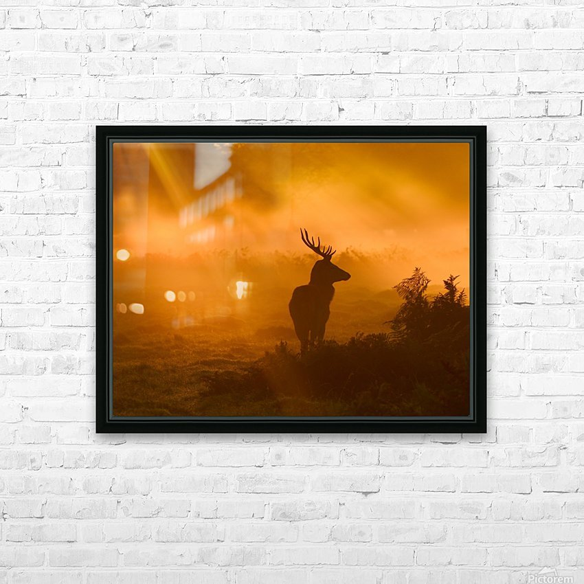 Guard Of Light HD Sublimation Metal print with Decorating Float Frame (BOX)