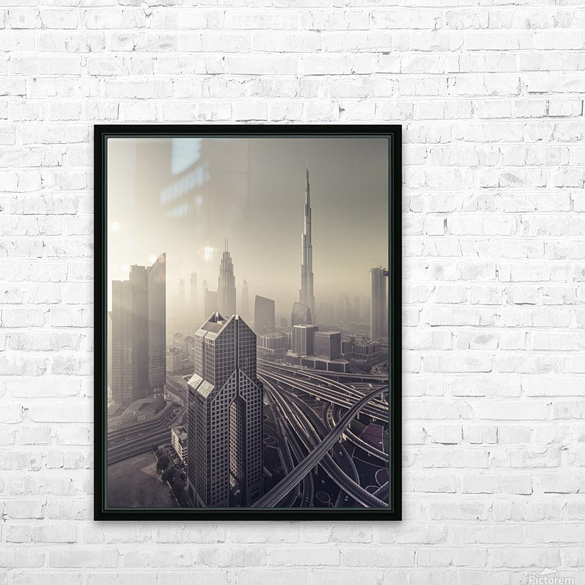 Dissolving HD Sublimation Metal print with Decorating Float Frame (BOX)