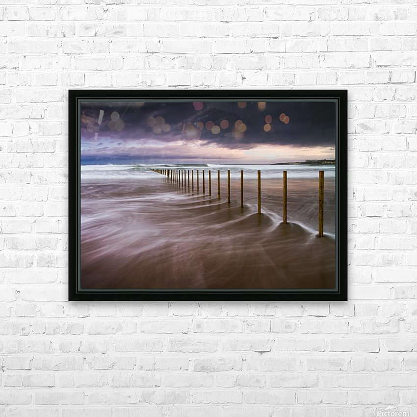 Portstewart Strand HD Sublimation Metal print with Decorating Float Frame (BOX)