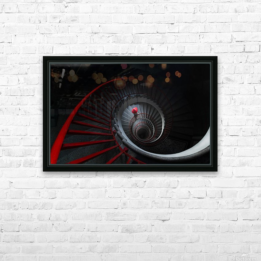The red hat HD Sublimation Metal print with Decorating Float Frame (BOX)