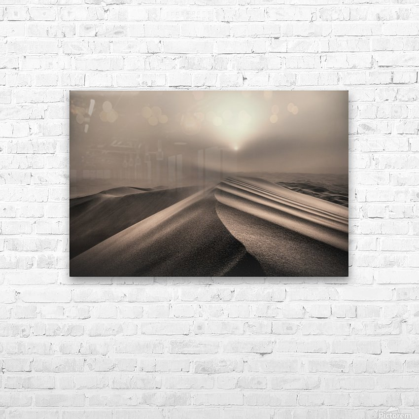 The perfect sandstorm HD Sublimation Metal print with Decorating Float Frame (BOX)