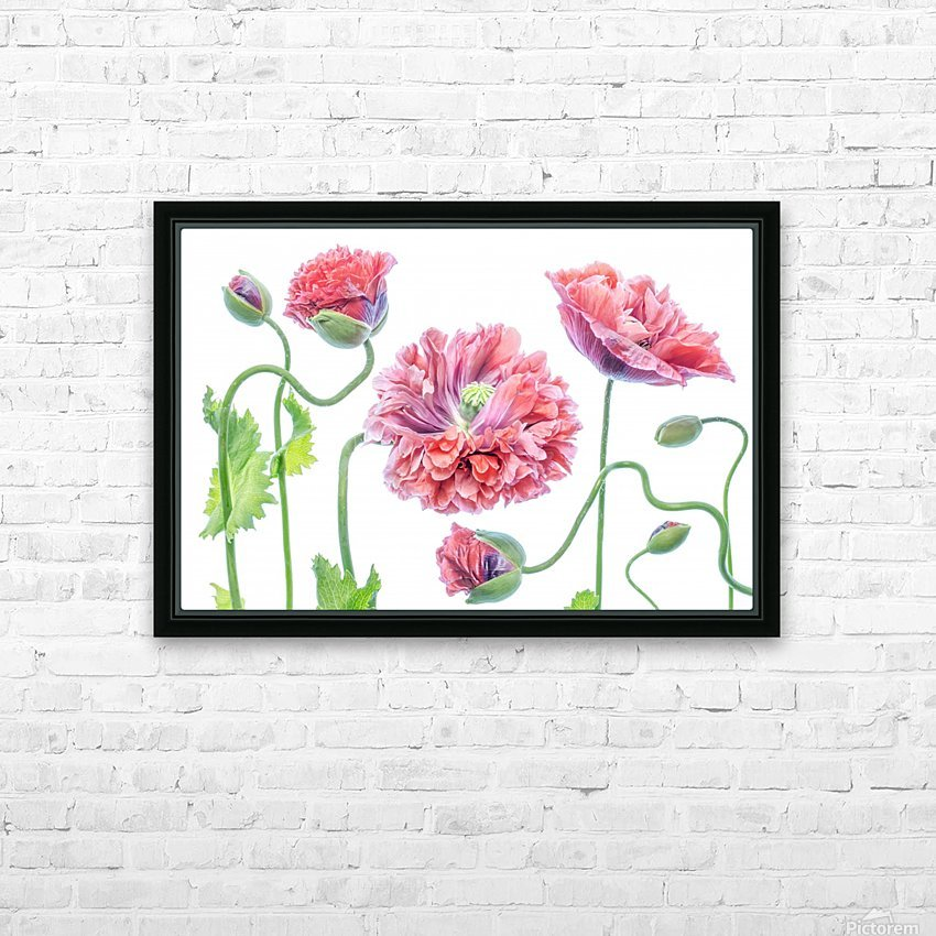 Fancy HD Sublimation Metal print with Decorating Float Frame (BOX)