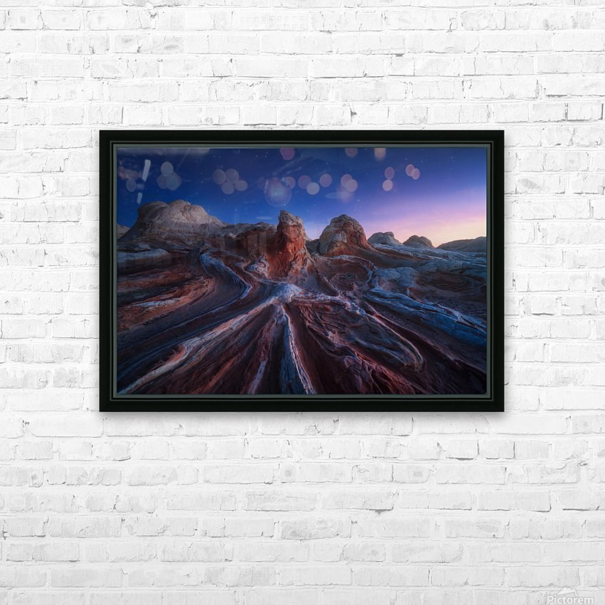Gordian stone knot HD Sublimation Metal print with Decorating Float Frame (BOX)