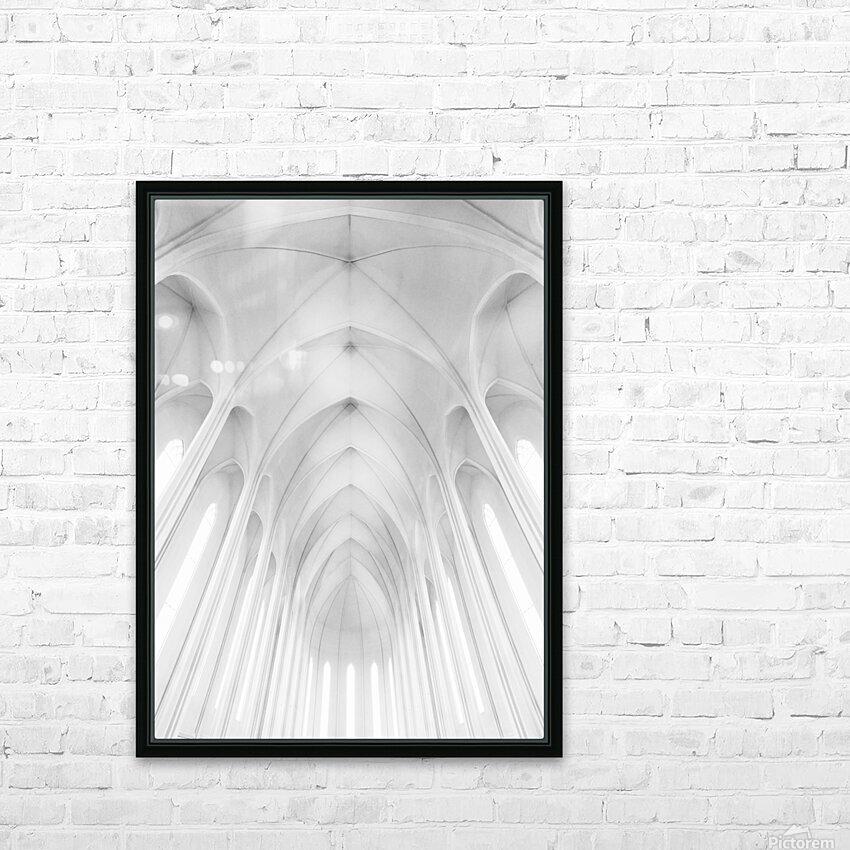 Hallgrimskirkja Church  in Iceland HD Sublimation Metal print with Decorating Float Frame (BOX)