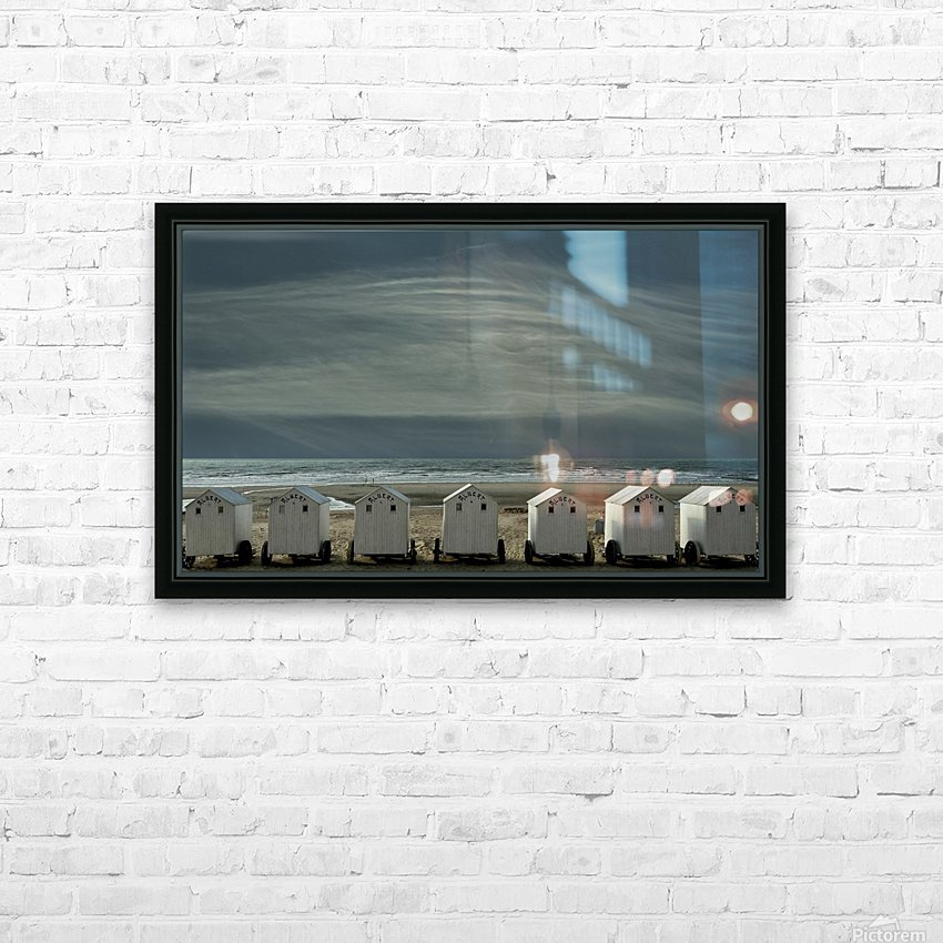 A quiet spot by the sea, just to 'be' ... HD Sublimation Metal print with Decorating Float Frame (BOX)