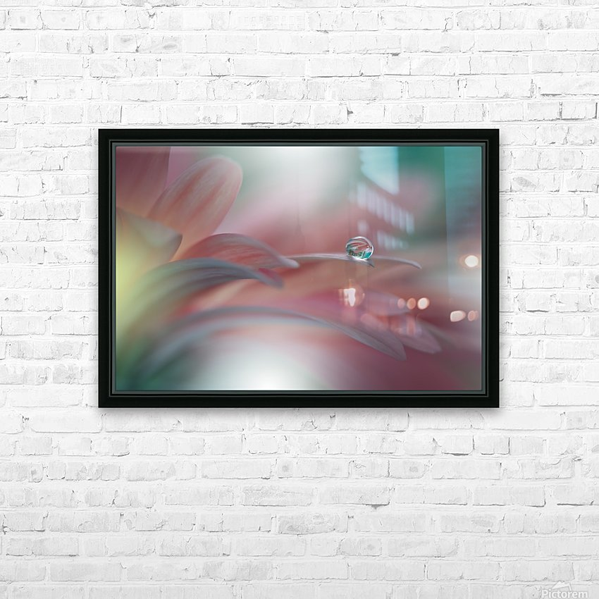 Sunbeam..II HD Sublimation Metal print with Decorating Float Frame (BOX)