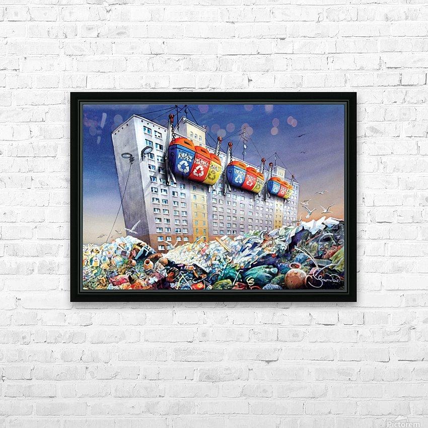 23 Krzysztof Grzondziel HD Sublimation Metal print with Decorating Float Frame (BOX)