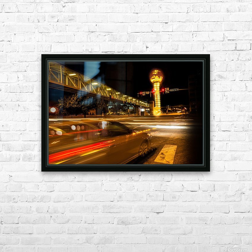 Henley @ Clinch HD Sublimation Metal print with Decorating Float Frame (BOX)