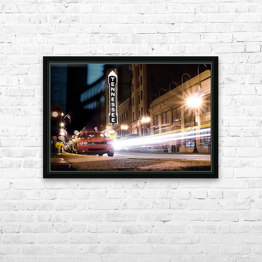 Tennessee Theater Color HD Sublimation Metal print with Decorating Float Frame (BOX)