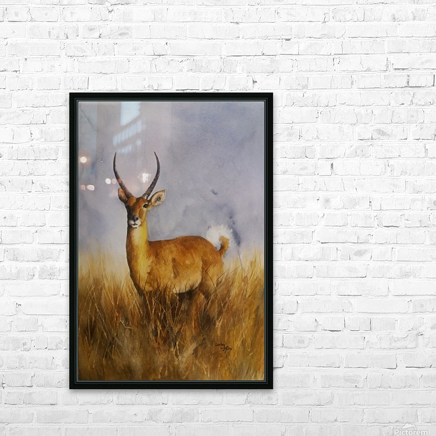 Waterbuck HD Sublimation Metal print with Decorating Float Frame (BOX)