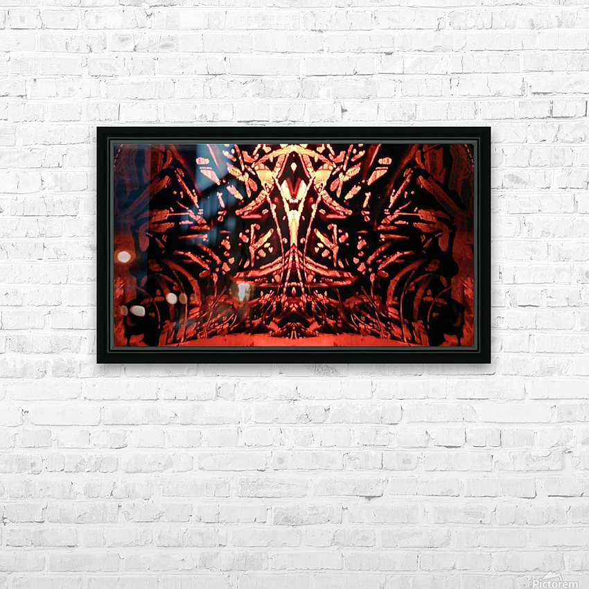 1539822811826 HD Sublimation Metal print with Decorating Float Frame (BOX)