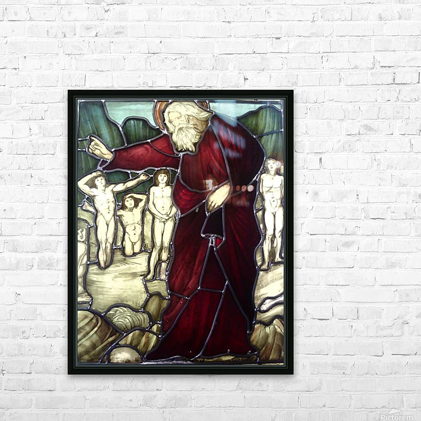 Edward Burne-Jones 8 HD Sublimation Metal print with Decorating Float Frame (BOX)