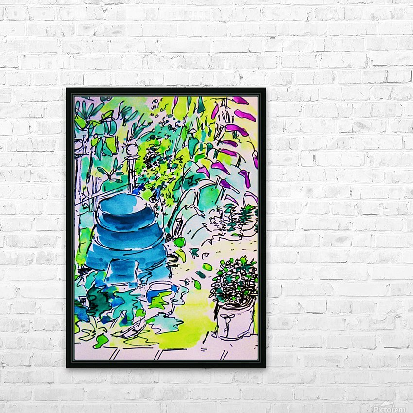 Summer Glory HD Sublimation Metal print with Decorating Float Frame (BOX)