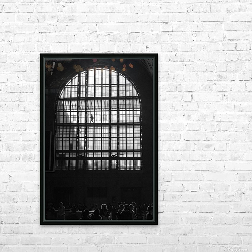 Toronto Union Station HD Sublimation Metal print with Decorating Float Frame (BOX)