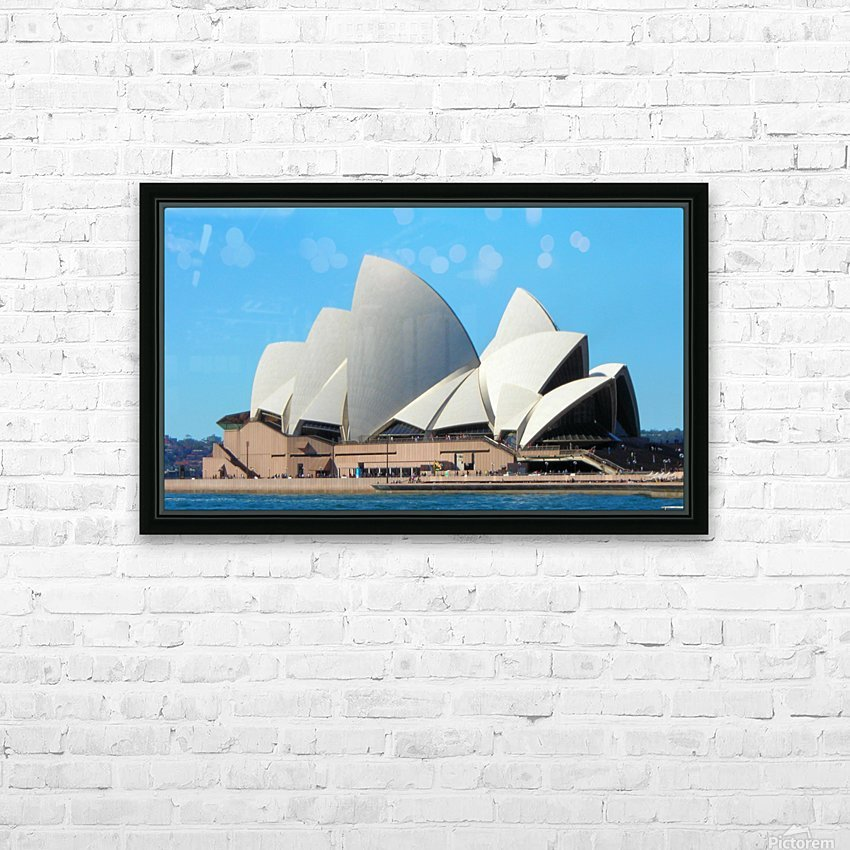 CitySydney3 HD Sublimation Metal print with Decorating Float Frame (BOX)