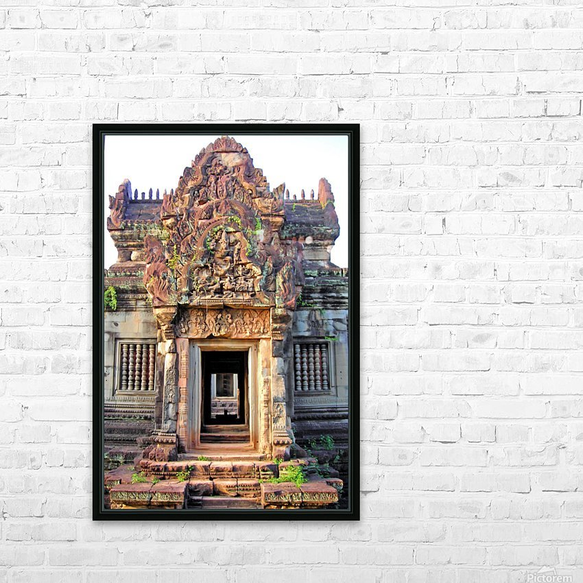 Cambodia28 HD Sublimation Metal print with Decorating Float Frame (BOX)