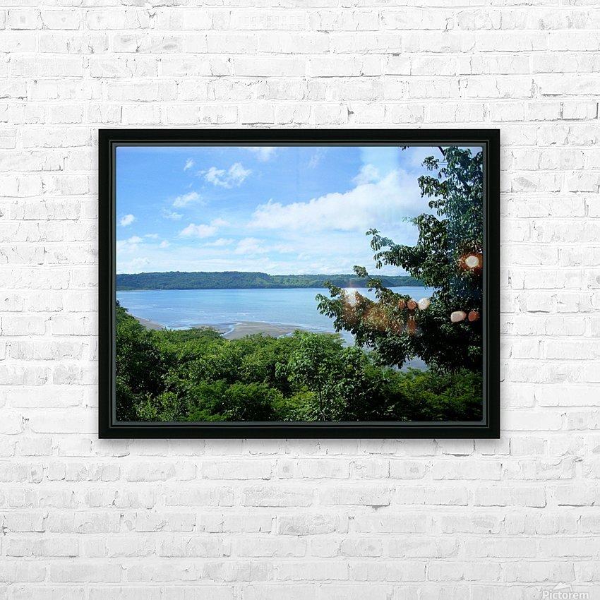 Landscape3 HD Sublimation Metal print with Decorating Float Frame (BOX)